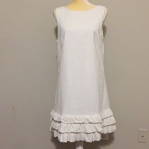 Lilly Pulitzer Holy Honey Ruffle Dress Size 14